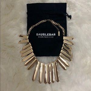 BaubleBar dart statement necklace